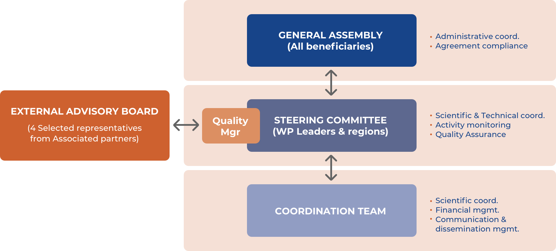 ICTUSnet: Governance Structure